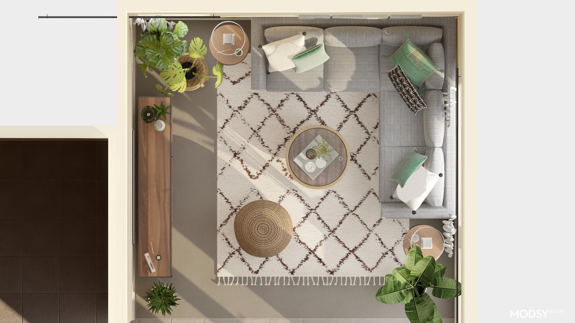 Modsy Living Room Design 3