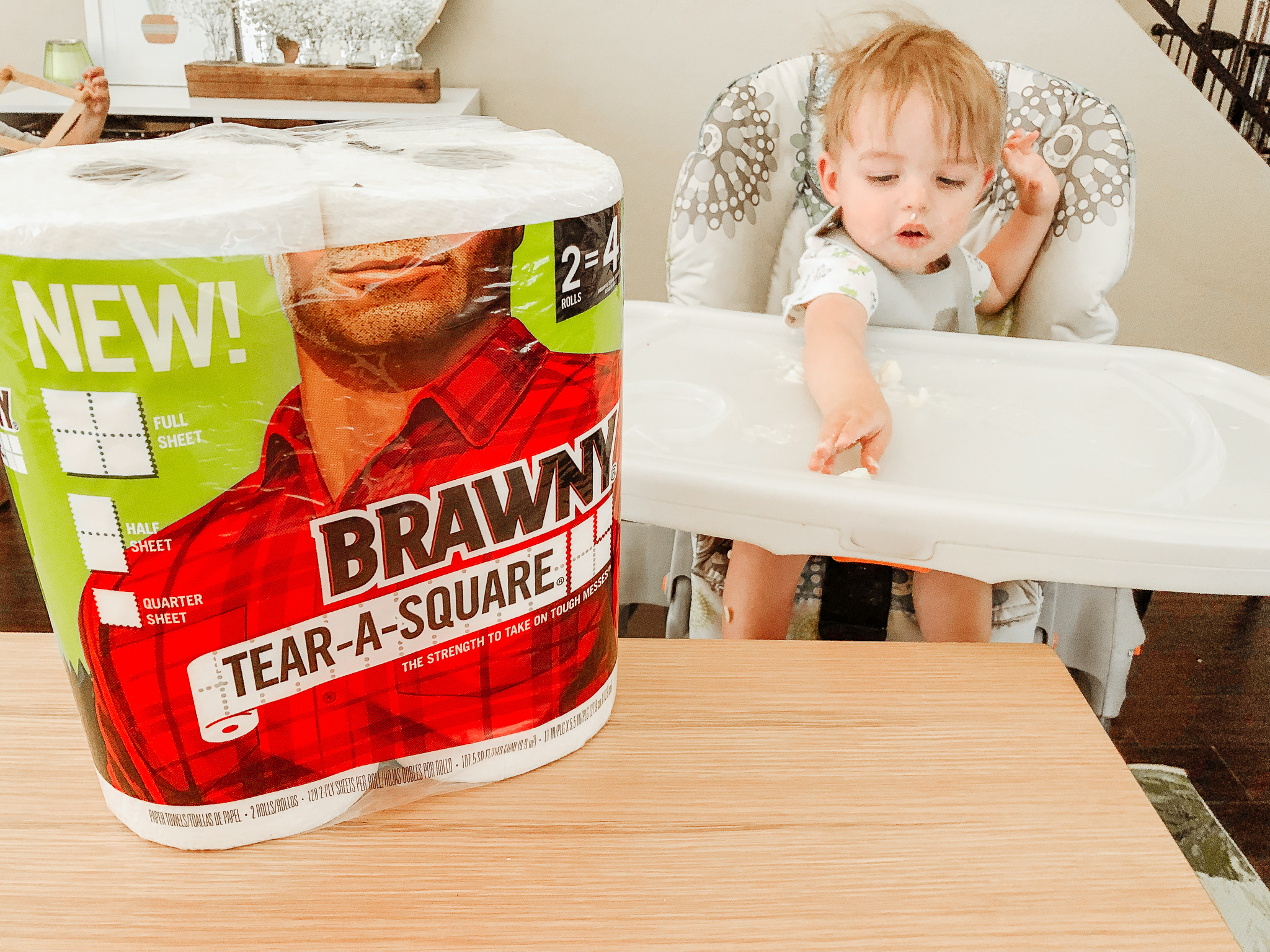 How to Contain the Mess When Babies Eat