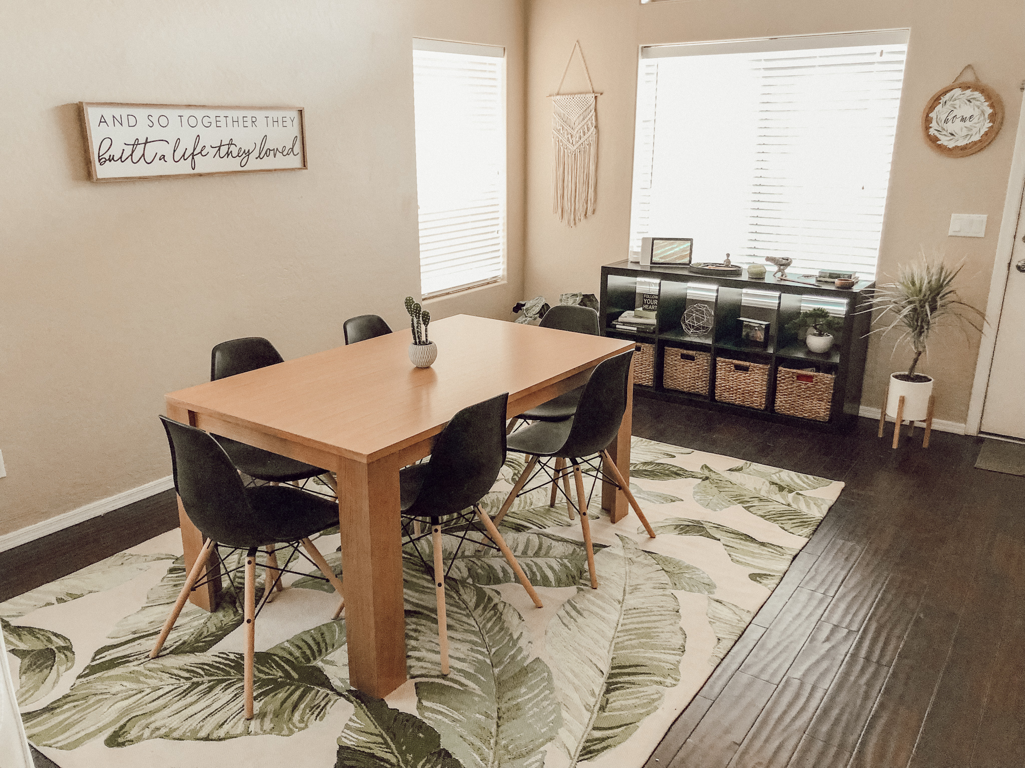 palf leaf dining room makeover