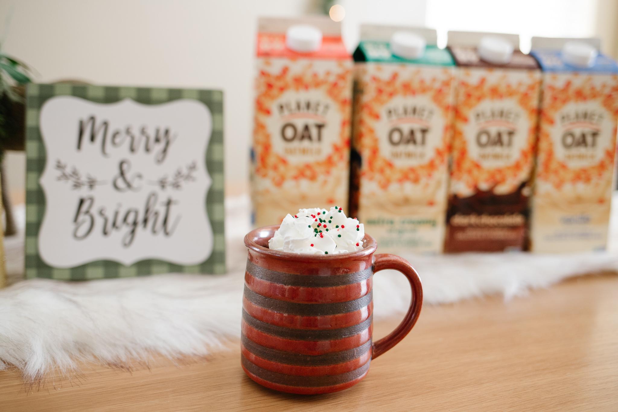 creamy hot chocolate for christmas