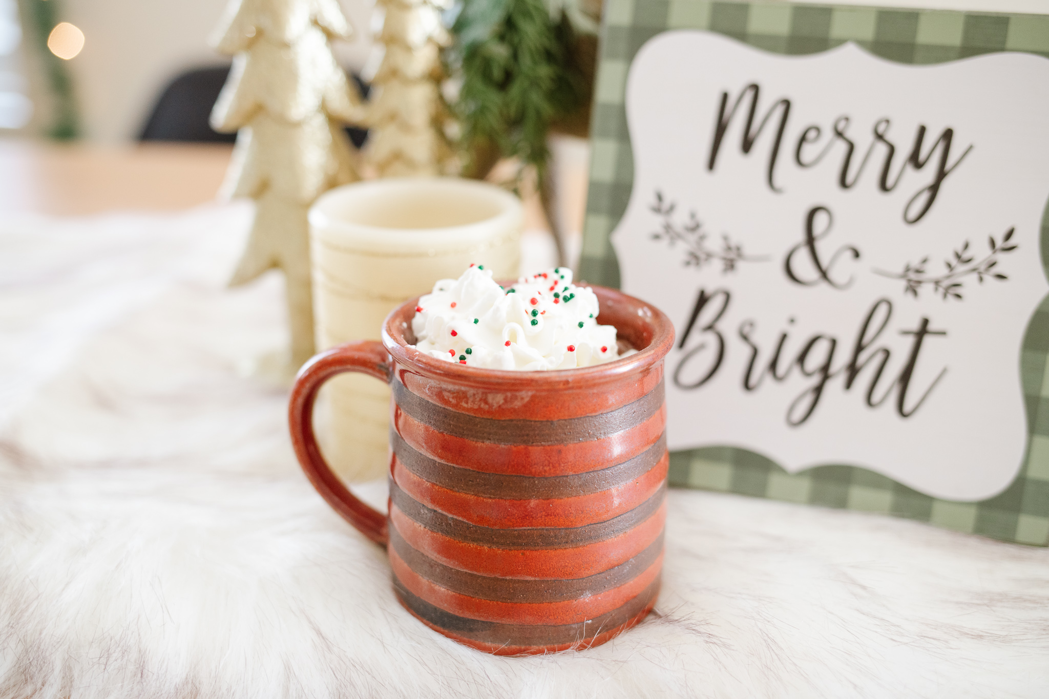 creamy hot chocolate for christmas